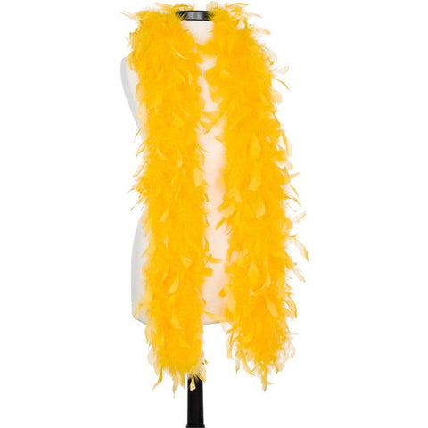 Golden Yellow 40 Gram Chandelle Feather Boas