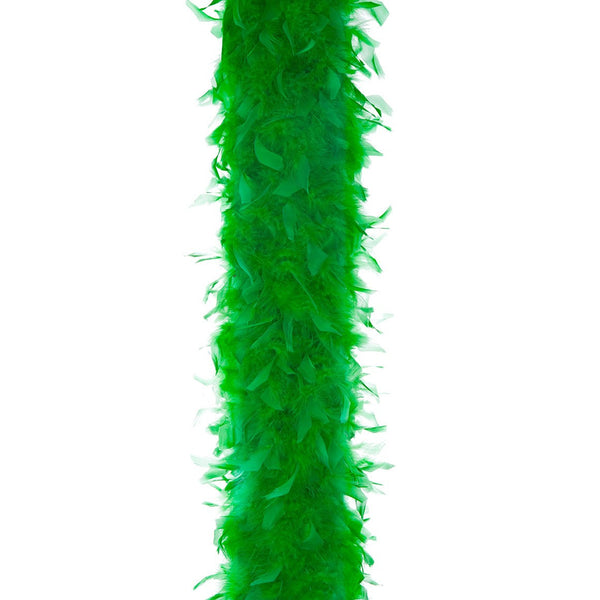 Kelly Green 65 Gram Chandelle Feather Boa