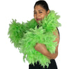 Lime Green 120 Gram Chandelle Feather Boas