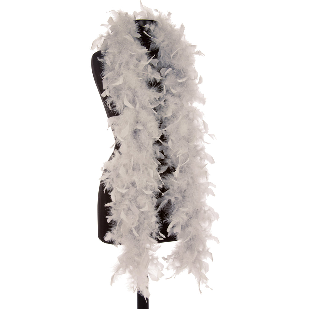 Taupe 40 Gram Chandelle Feather Boa