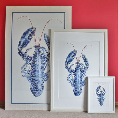 Lobster print - artist's quality print of lobster painting