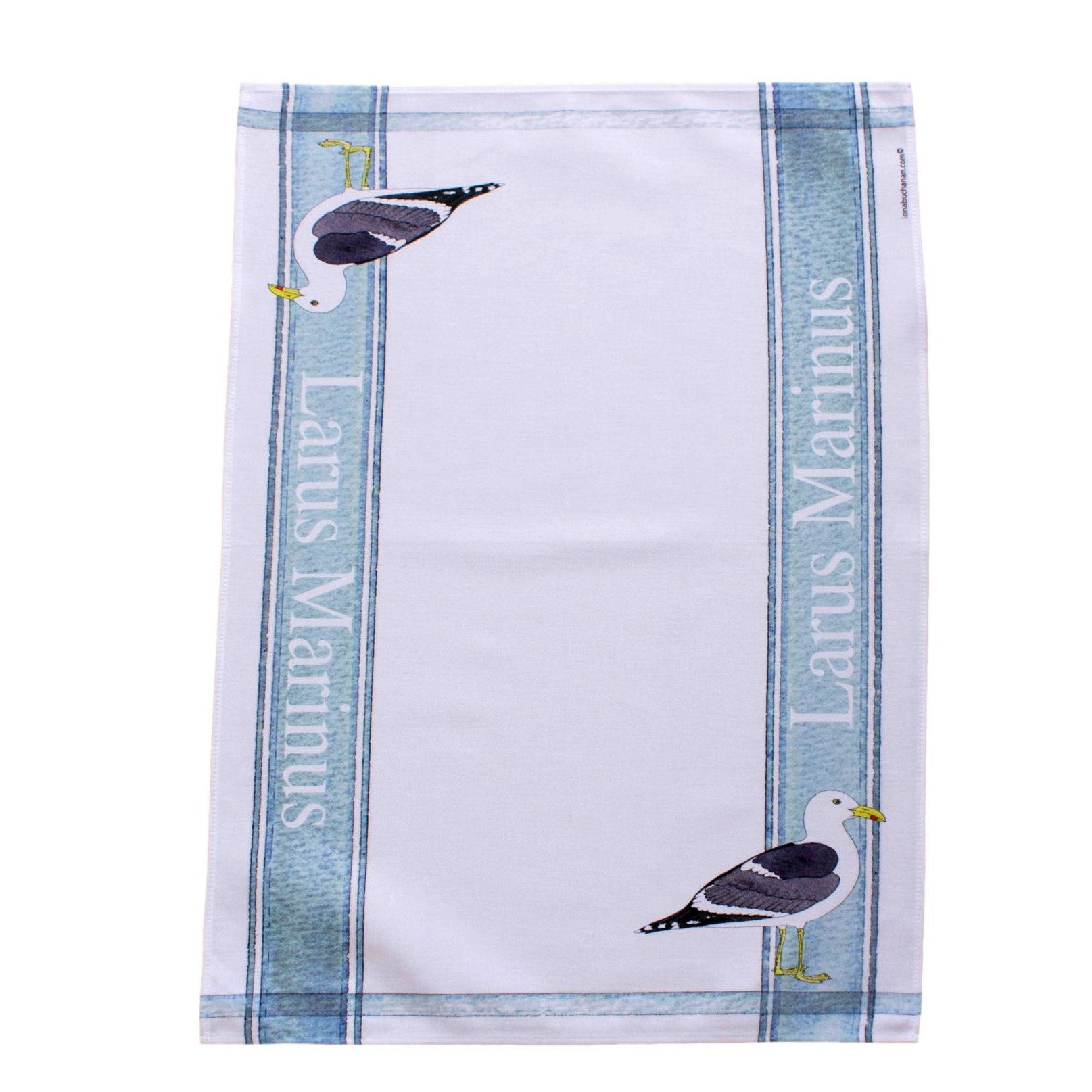 tea towel with Gull design