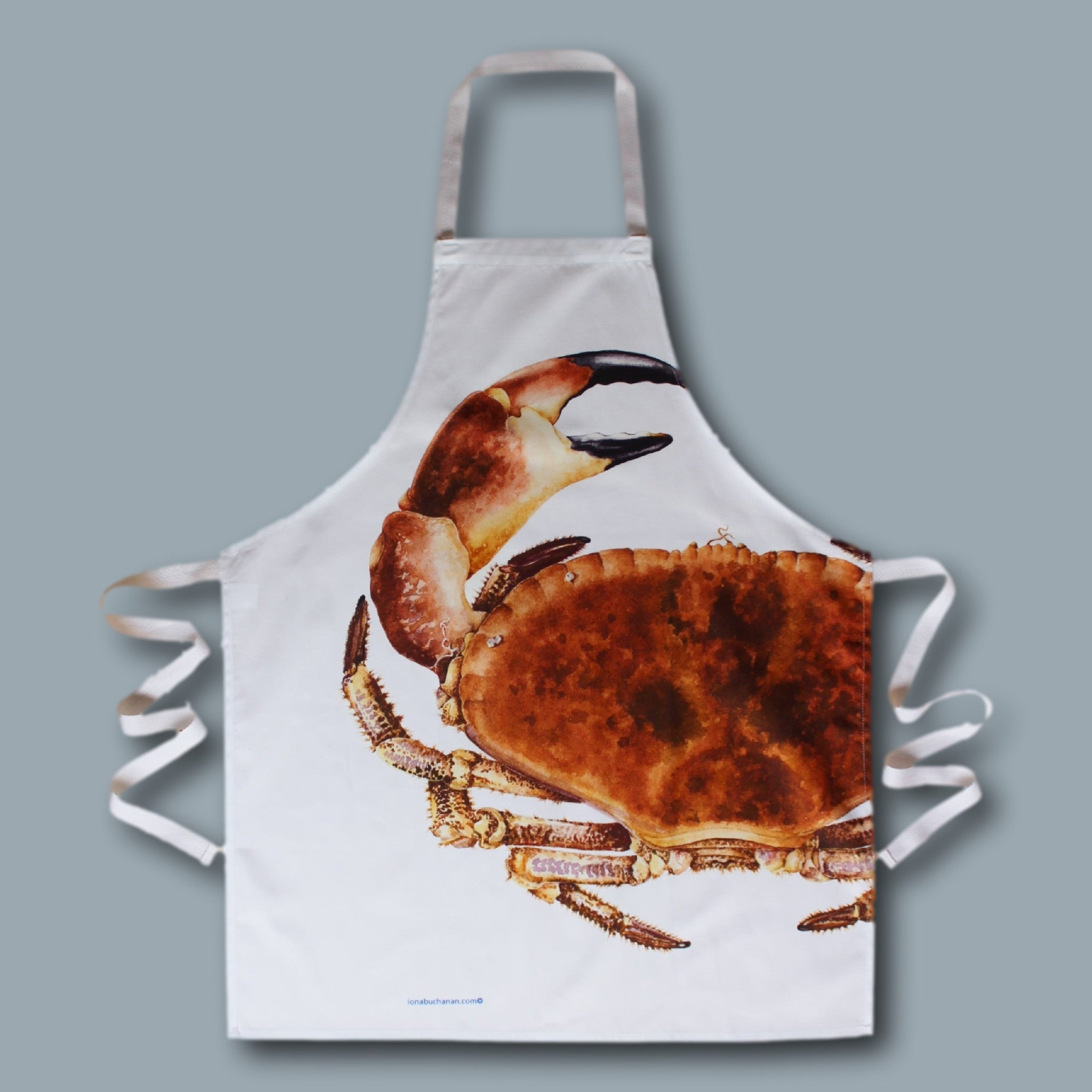 Apron - crab design