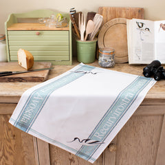 tea towel with Avocet design