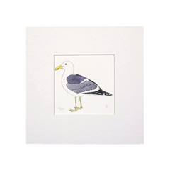 Lesser Black Backed Gull Mini Print