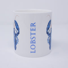 Mug with lobster design