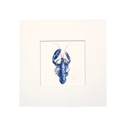 Lobster Mini Print