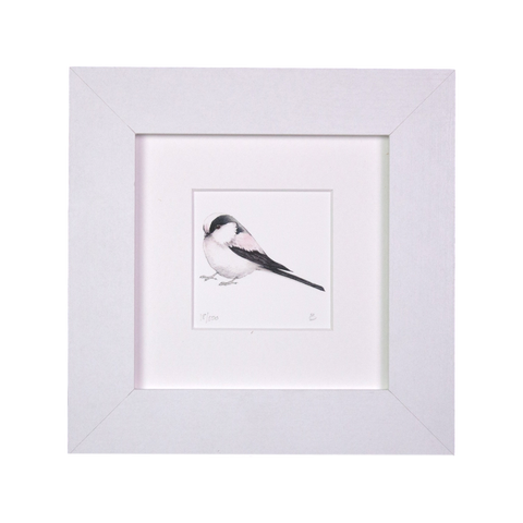 Longtailed Tit Mini Print