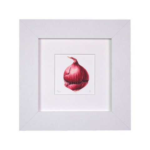 Red Onion Mini Print