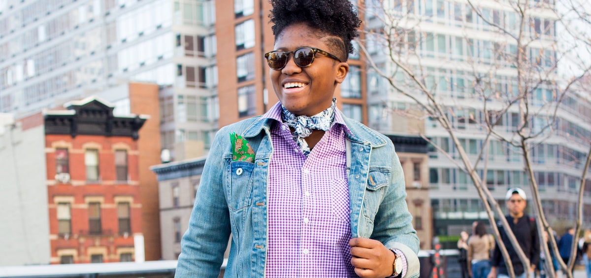 aecd789672f4 Three Ways To Style A Shirt by Doreen Pierre