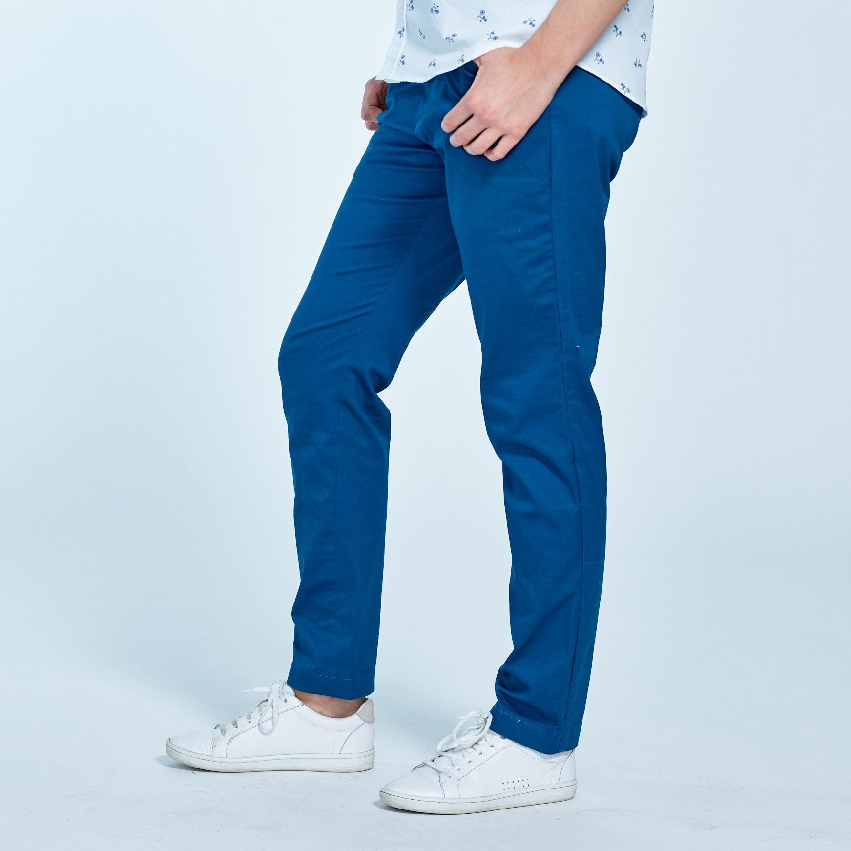 to wear - Wear to what with cobalt blue chinos video