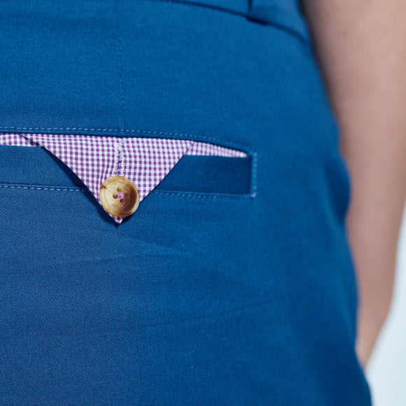 The Windsor Royal Blue Chinos