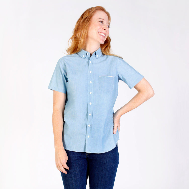 Light Blue Chambray Selvedge Shirt