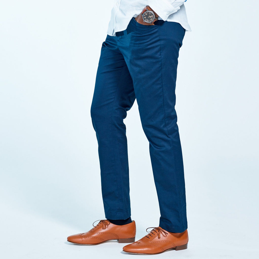 "The Windsor Navy Chinos 29"" Inseam"