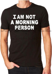I am not a morning person