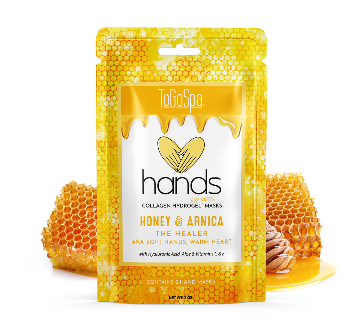 Honey + Arnica HANDS: Soft Hands, Warm Heart