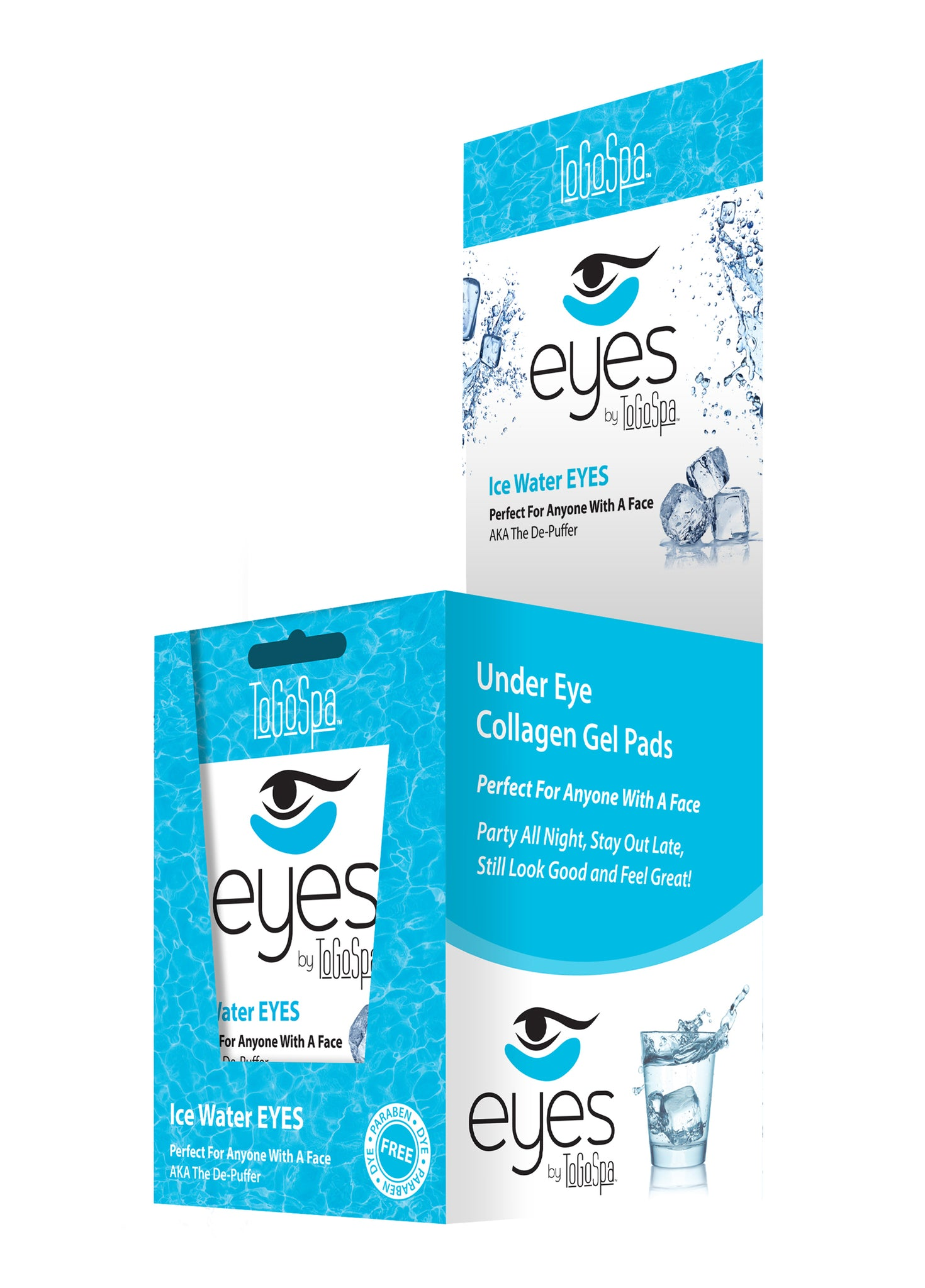 Wholesale Ice Water EYES Retail Box - 10 Packs