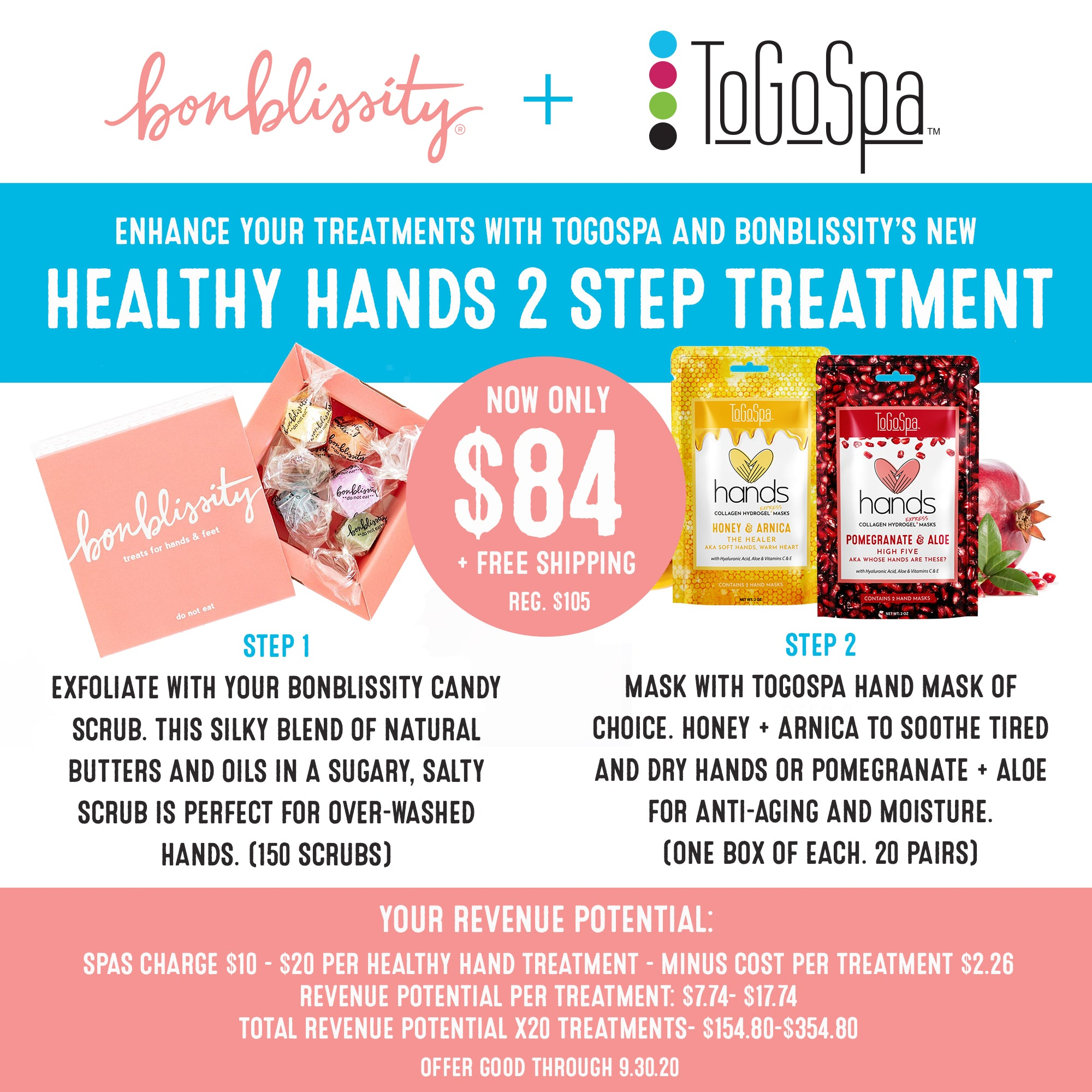 Bonblissity + ToGoSpa Hands Bundle