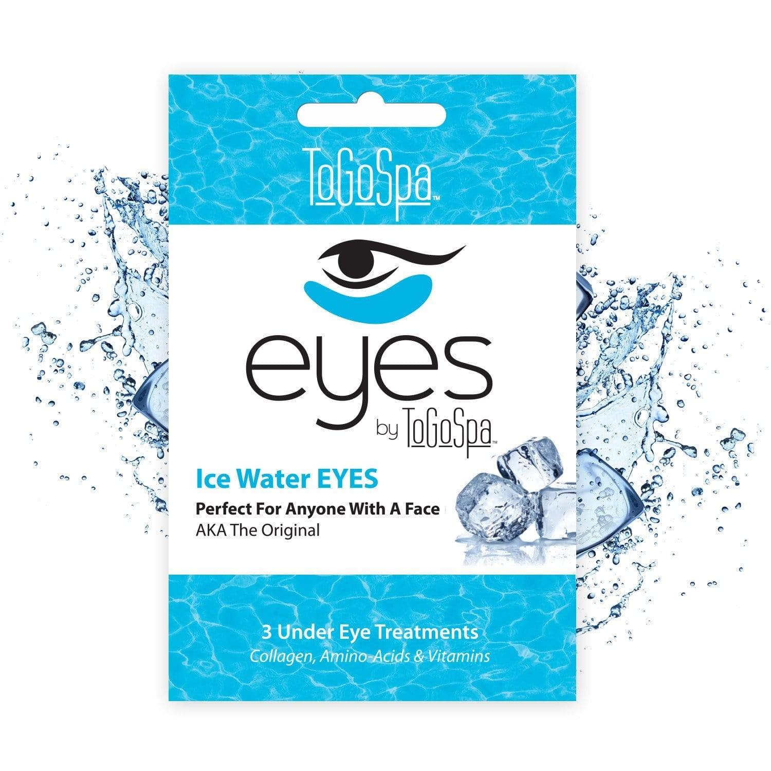 ToGoSpa bonus Ice-water / 1-pack-3-treatments Bonus Pack Of Ice Water Eyes