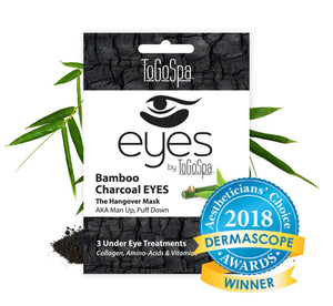 ToGoSpa eyes Bamboo Charcoal EYES :: AKA Man Up, Puff Down