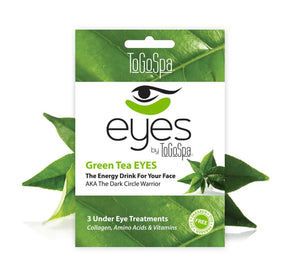 ToGoSpa eyes Green Tea EYES :: AKA The Dark Circle Warrior