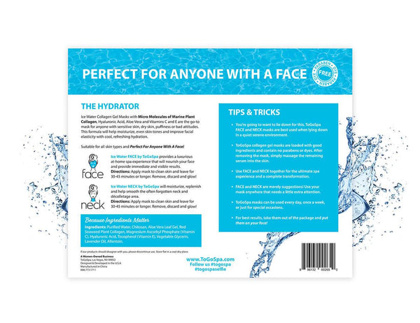 ToGoSpa face Ice Water FACE & NECK :: AKA The Hydrator