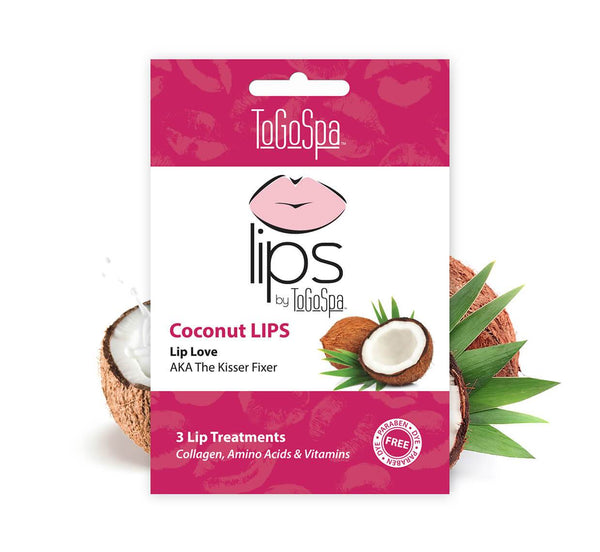 ToGoSpa lips Coconut LIPS :: AKA The Kisser Fixer