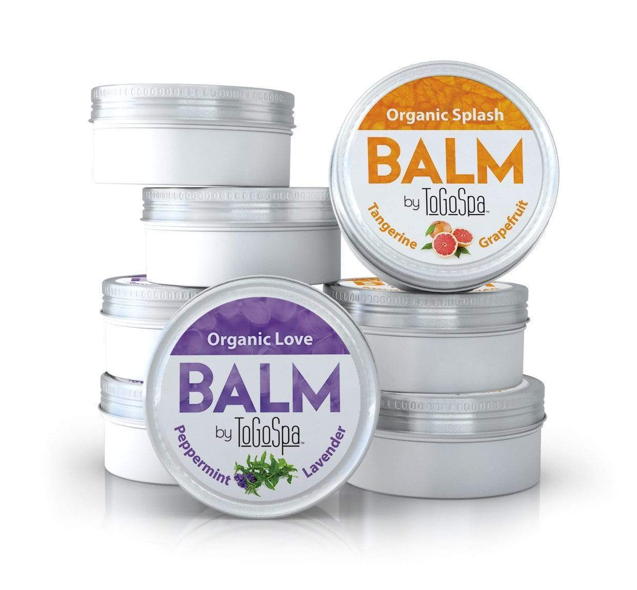 ToGoSpa skin care The Lip Balms :: AKA Organic Coconut Oil Lip Magic