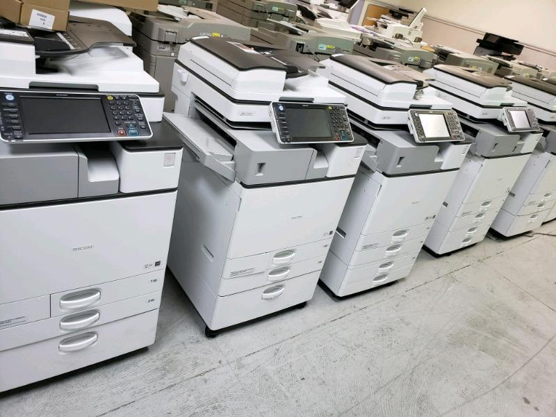 What is the average life of a copiers?