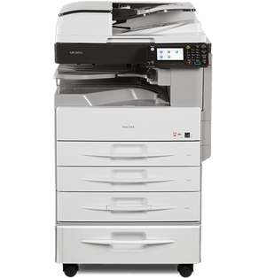Buy Multifunctional Black and White RICOH MP 2501SP for improved printing performance.