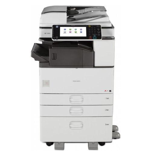 Ricoh MP 3353 Black & White Laser Multifunction Printer Copier 11x17 Color Scanner