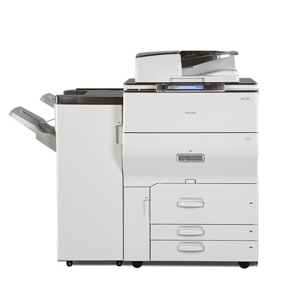REPOSSESSED Ricoh MP C6502 Color Laser Multifunction Light Production High Quality Fast Printer - Buy in Toronto
