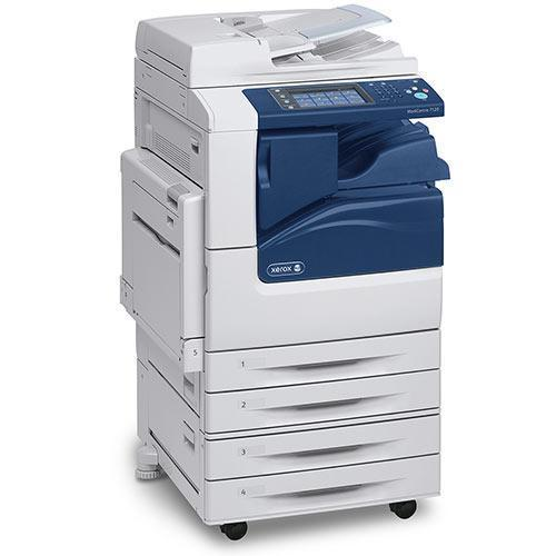 ONLY 2026 Pages Xerox 11x17 Color Multifunction Workcentre 7225 Photocopier - REPOSSESSED Like New Low Page Count (Only for $3850)
