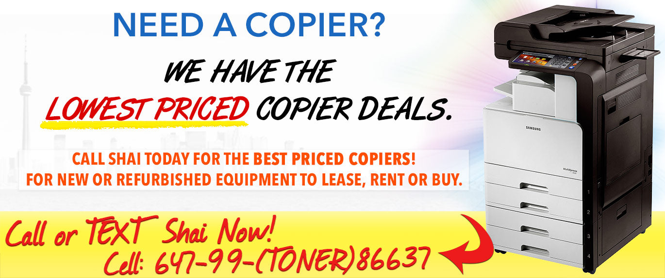 WE HAVE THE LOWEST PRICED COPIER DEALS.