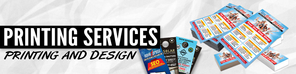 Printing Services - Printing and Design Banner