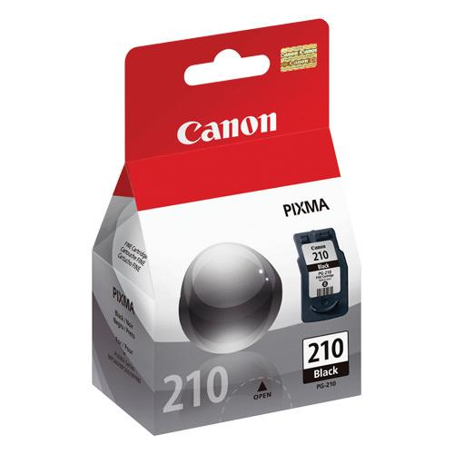 Canon PG-210 OEM Black Ink Cartridge (2974B001)