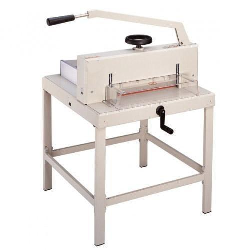 "Absolute Toner Only $39/month - 18.7"" Manual Paper Cutter Guillotine Heavy Duty Finishing Equipment Bindery Paper Cutter"