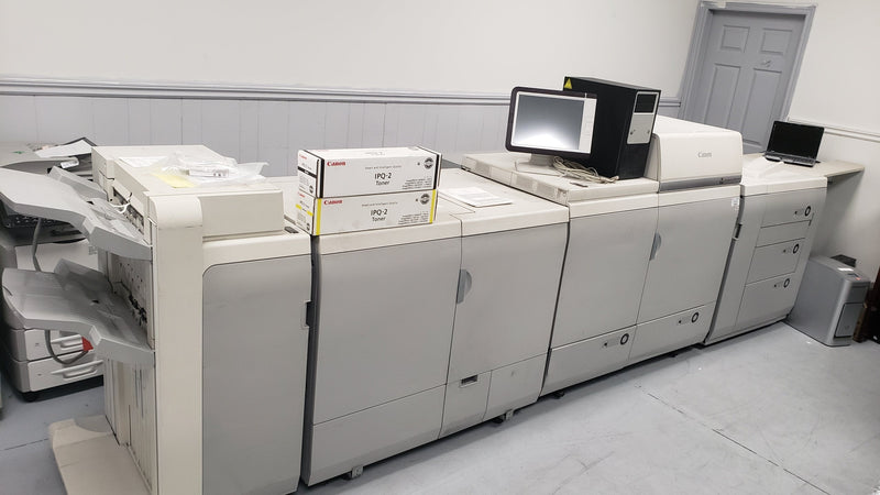 Absolute Toner Canon imagePRESS C7011 VPS Color Digital Press 70PPM Showroom Color Copiers