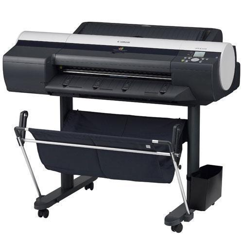 "24"" Canon imagePROGRAF iPF6100 Large Format 6-Color Graphic Arts Printer with stand"