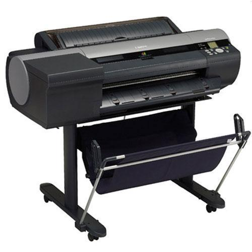 "24"" Canon imagePROGRAF iPF6400 6400 Large Format 6-Color Graphic Arts Printer with stand"