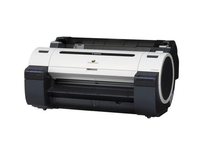 Lease To Own: Canon ImagePROGRAF iPF670 Graphic Color Large Format Printer