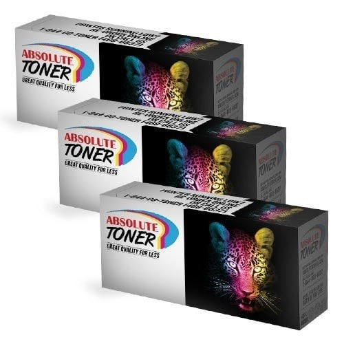 3 Black Toner Cartridge Combo Compatible For Samsung CLT-K407S (CLT-407)