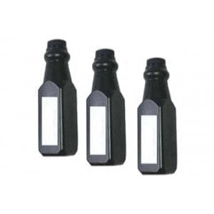 3 Bottles Brother TN-225 Compatible Black Refill Kit (TN-221)