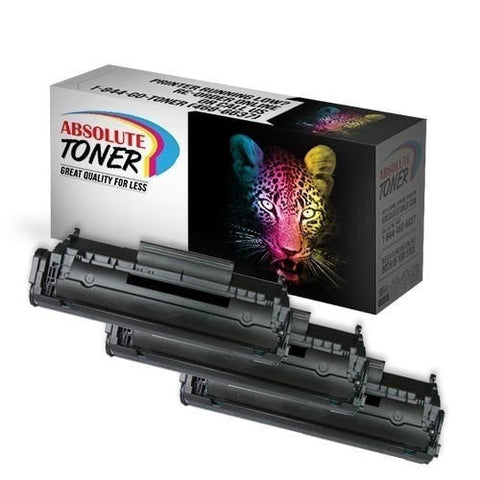 3 Canon 104 Compatible Black Toner Cartridge Combo (0263B001AA)