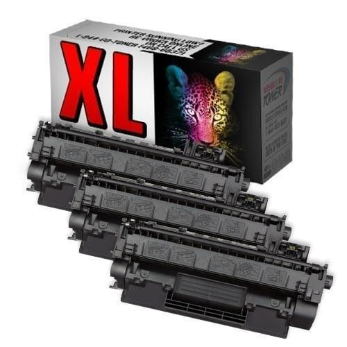Absolute Toner Compatible 3  Toner Cartridge for HP CE505X 05X High Yield of CE505A 05A HP Toner Cartridges