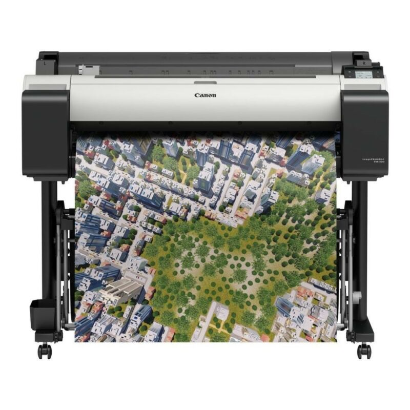 "Absolute Toner $53.72/mo. Canon ImagePROGRAF TM-200 24"" Plotter Large Format Printer Large Format Printer"