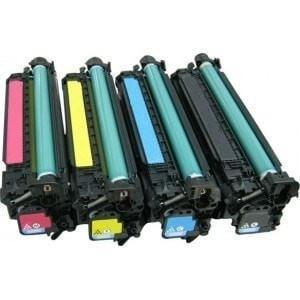 Absolute Toner Compatible 4  Toner Cartridge for HP 504A Color Combo (CE250X CE251A CE252A CE253A) HP Toner Cartridges