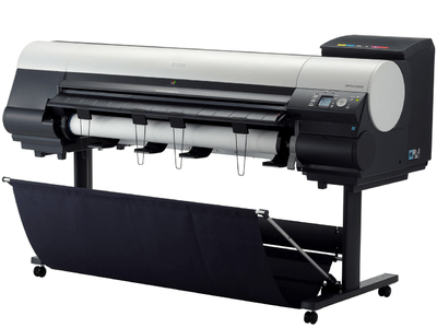 "Absolute Toner 44"" Canon imagePROGRAF iPF8400 Large Format Printer with stand 12-Colour Professional Photo and Fine Art Large Format Printer"