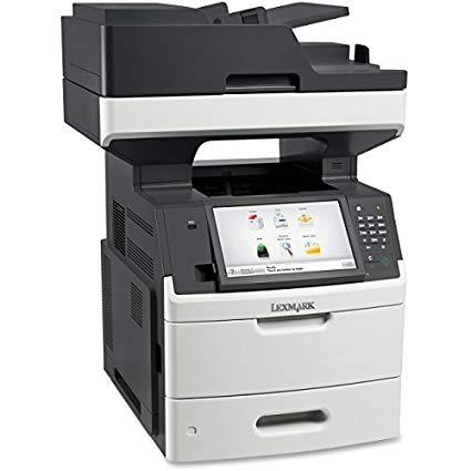Absolute Toner $25/Month Brand New 70 PPM Lexmark MX 711de Monochrome Laser Office Multifunction Printer Showroom Monochrome Copiers