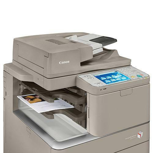 Absolute Toner REPOSSESSED Canon imageRUNNER ADVANCE IRA 4251 Monochrome Multifunction Copy Machine Office Copiers In Warehouse